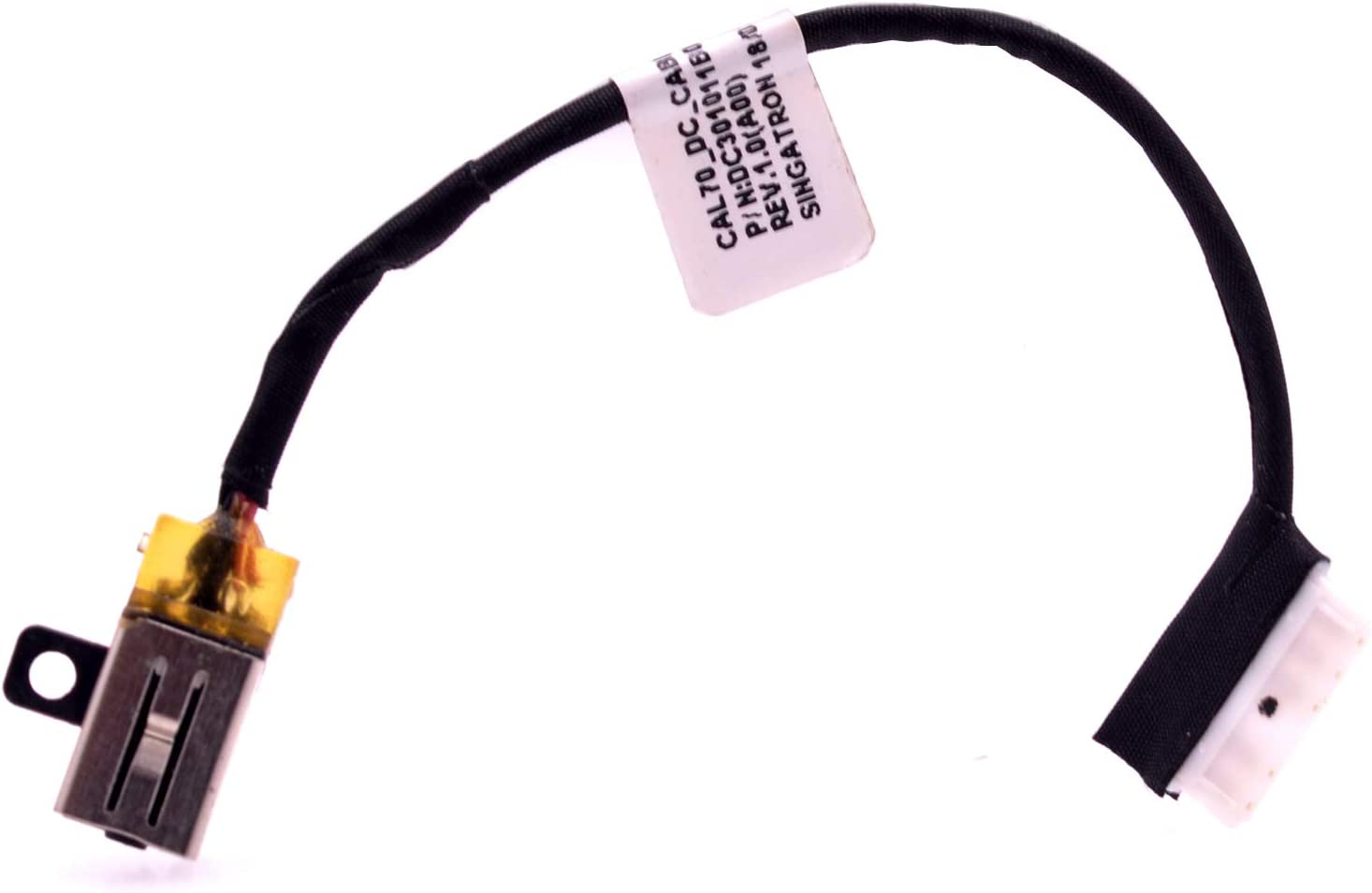 Zahara DC Power Jack Harness Cable Socket Plug Replacement for Dell Inspiron 15-5570 i5570 15-5575 i5575 3579