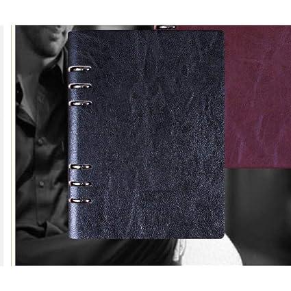 CXYBJB Cuaderno 1Pcs A5 A6 Cuaderno Espiral Vintage Agenda ...