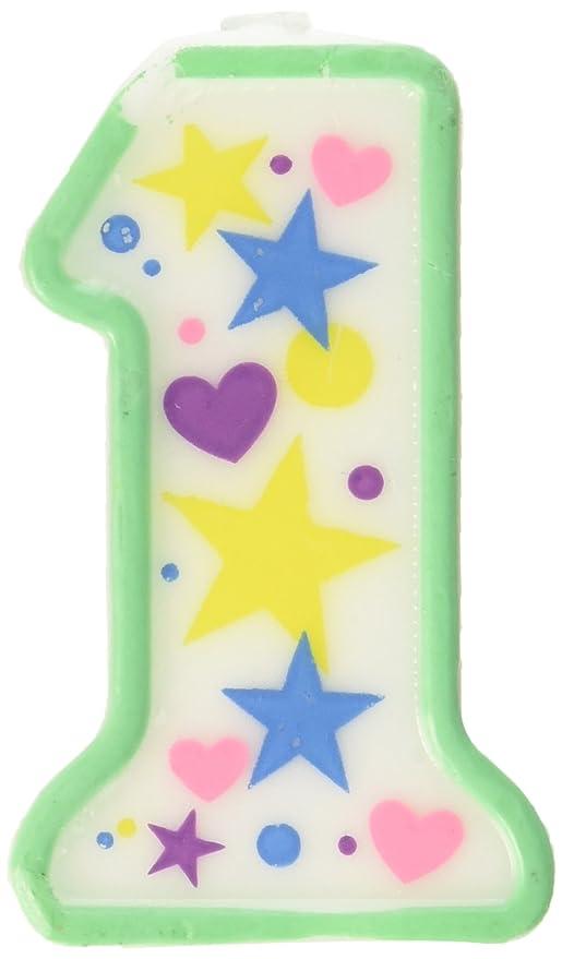 Oasis alimentación bebé 1st velas de cumpleaños, 8,26 cm ...