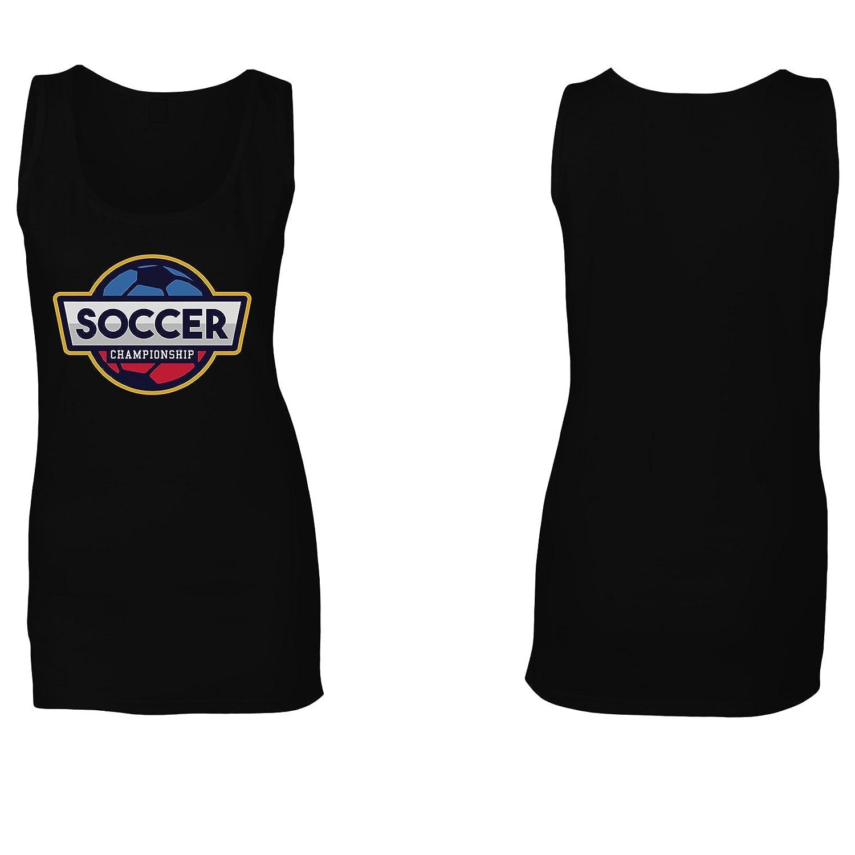 Logotipo Americano De Fútbol camiseta sin mangas mujer r190ft: Amazon.es: Ropa y accesorios