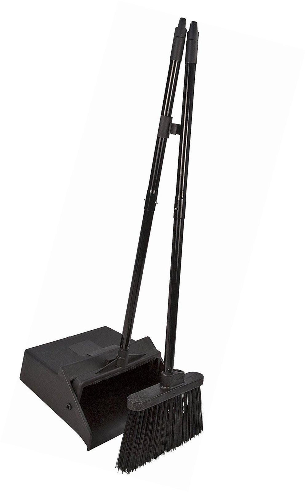 Broom And Dustpan Dust Janitor Set Hand Commercial Bristle Sweeper Pet Hair New