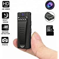 Mini Camara Espia Oculta, DEXILIO 1080P Vigilancia Grabadora