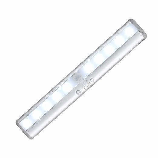 518 opinioni per OxyLED Luce per Guardaroba a Sensore di Movimento, a 10 LED, Sensore di