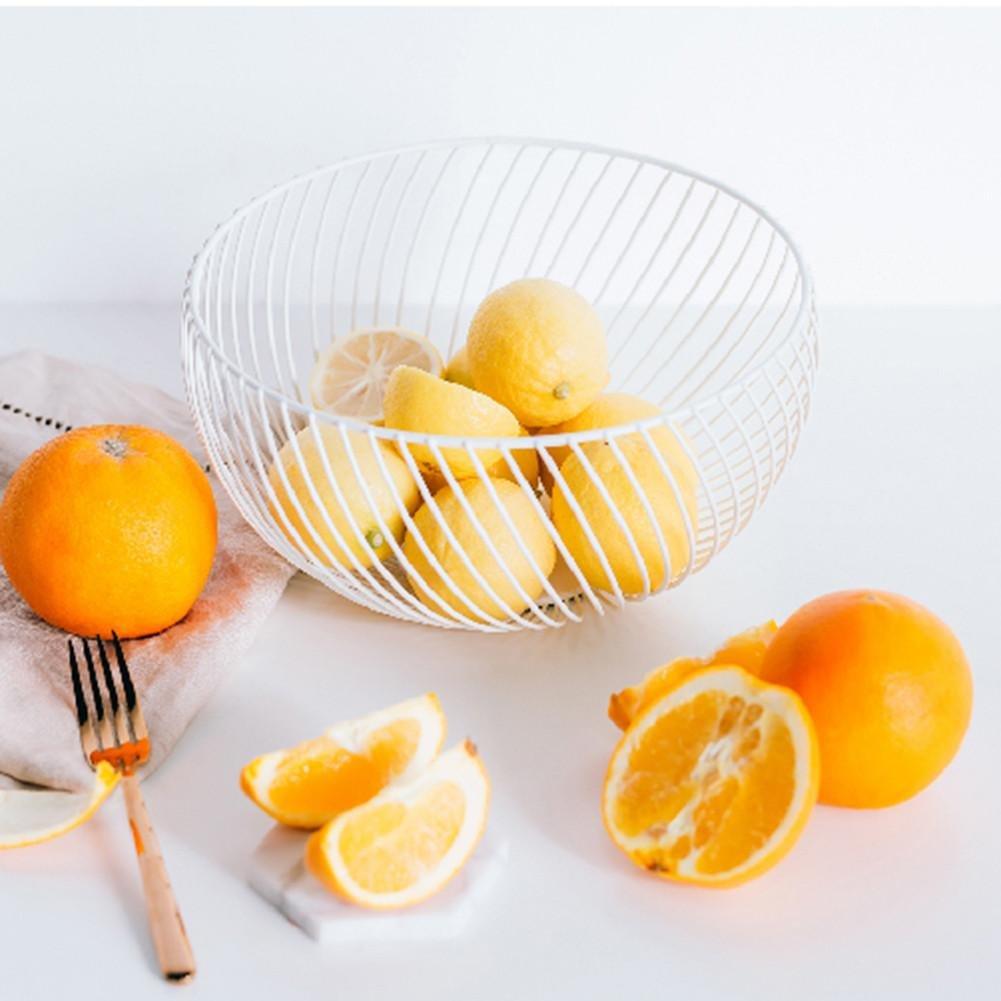 praktischer Fr/üchtekorb f/ür Obst und Gem/üse Snacks dekorativer Obstkorb Snack-Korb Class-Z Obstkorb Obstschale Metall f/ür K/üche Home Office