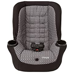 With the Cosco Apt 50 Convertible Car Seat, your kids will ride longer - all the way to 50 pounds. Rear-facing to 40 pounds and forward-facing to 50, the Apt 50 keeps them safer during every stage with Side Impact Protection. There's also six...