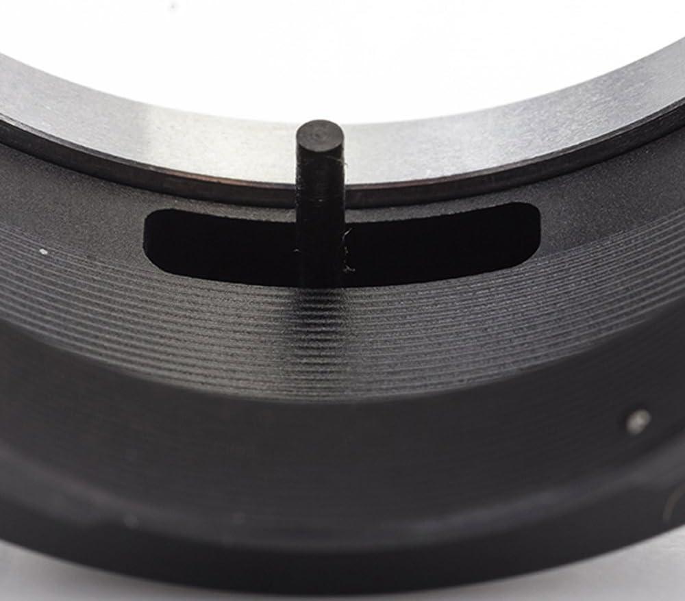Lens to Fujifilm X Camera X-T30 X-T100 X-H1 X-A5 X-E3 X-T20 X-A10 X-A3 X-T2 X-Pro2 X-E2S X-T1 X-A2 X-T1 X-A1 X-Pro1 Black M42 -Fuji FX Pixco Lens Adapter Suit for M42 Screw Mount