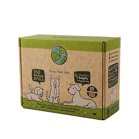 Frpower Bolsas Biodegradables para Excrementos Biodegradables, 16 ...