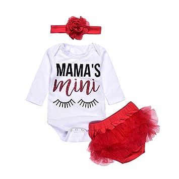 46801ffae Amazon.com  FEITONG Newborn Infant Baby Girl Eyelash Letter Print ...