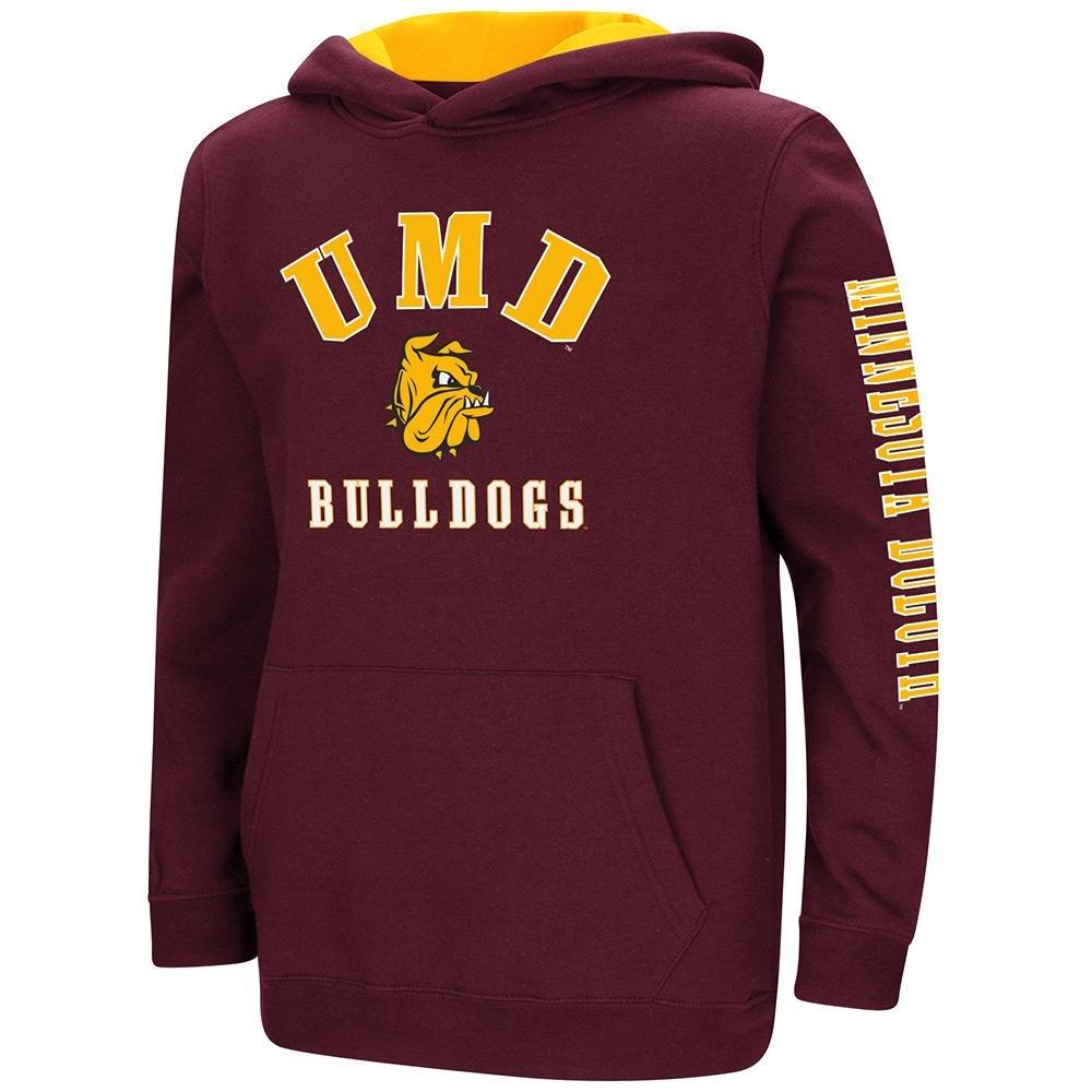 Colosseum Youth Minnesota Duluth Bulldogs用プルオーバーパーカー B07DWH1NCP   Small (8/10)