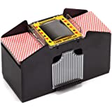 Casino Automatic Card Shuffler for Poker Games(2 Deck, 4 Deck, 6 Deck)