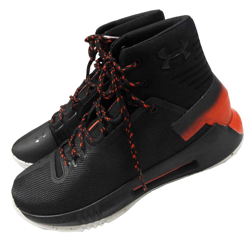 UNDER ARMOUR アンダーアーマー ジュニアシューズ バスケットシューズ 紐靴 黒 ブラック 4.5Y 23.5cm B07RYBTV78