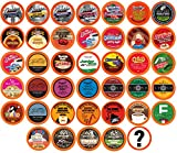 Two Rivers Coffee, Tea, Cocoa, Cider, Cappuccino Single-cup Sampler Pack for Keurig K-Cup