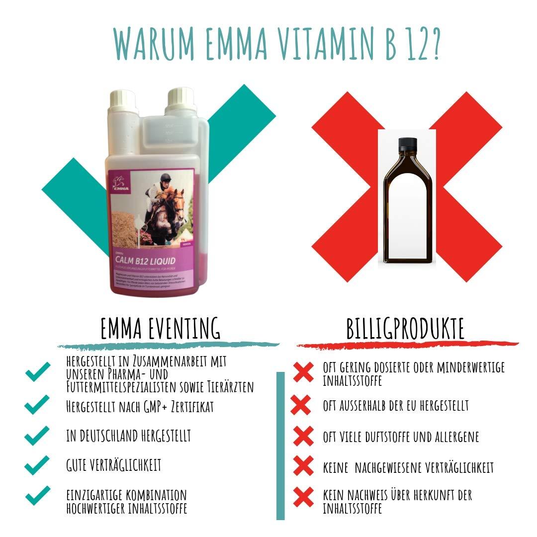 EMMA Magnesio Vitamina B12 para Caballos I Calma para Caballos I ...