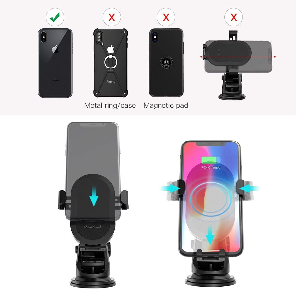 39W 12V Fast Dual USB Car Charger Volport Metal 3A Rapid Charge Adapter with 2 Quick Charging 3.0 Port for Android Samsung Galaxy S10 S9 S8 Note 9 Note 8 LG Sony iPhone Xs Max XR X 8 Plus iPad Mini