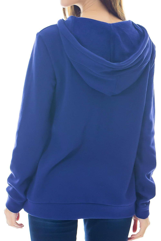 Smallshow Stillpullover Damen Kapuzenpullover Hoodie Unstandsmode Schwangerschaft Stillkleidung Langarm Sweatshirt