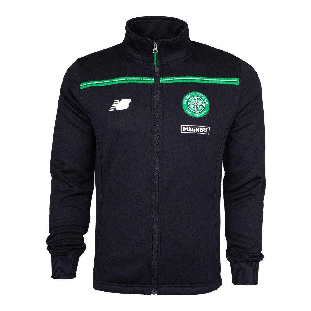 2015-2016 Celtic Walkout Jacket (Black) New Balance