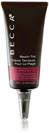 Becca Becca beach tint water resistant colour for cheeks and lips – raspberry, 0.24oz, 0.24 Ounce