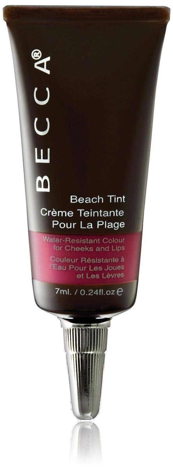 Becca Becca beach tint water resistant colour for cheeks and lips - #raspberry, 0.24oz, 0.24 Ounce by Becca (Image #1)
