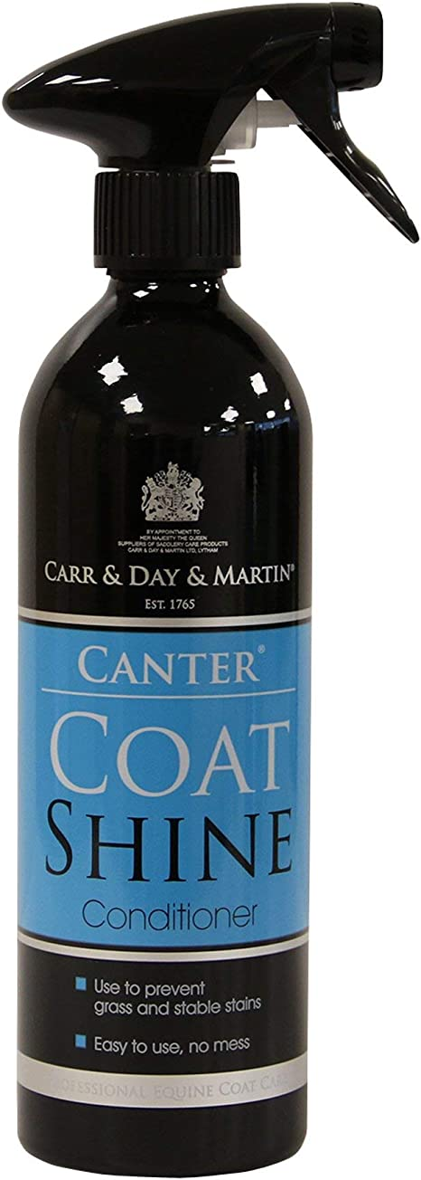 Carr Day and Martin Canter Coat Shine