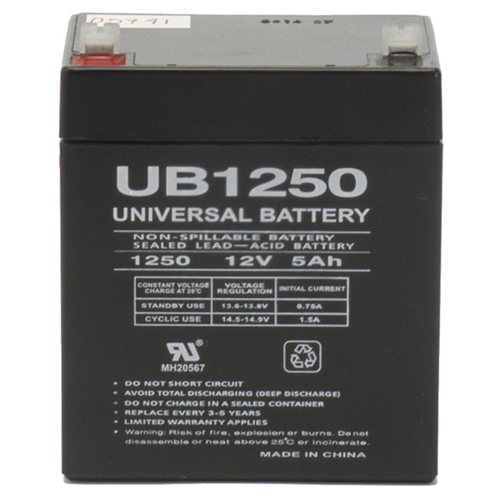 Universal Power Group 12V 5AH SLA Battery Replacement SOLO 416 Backpack Sprayer