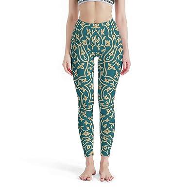 Dofeely - Mallas para Mujer, diseño de Mandala, para Yoga ...