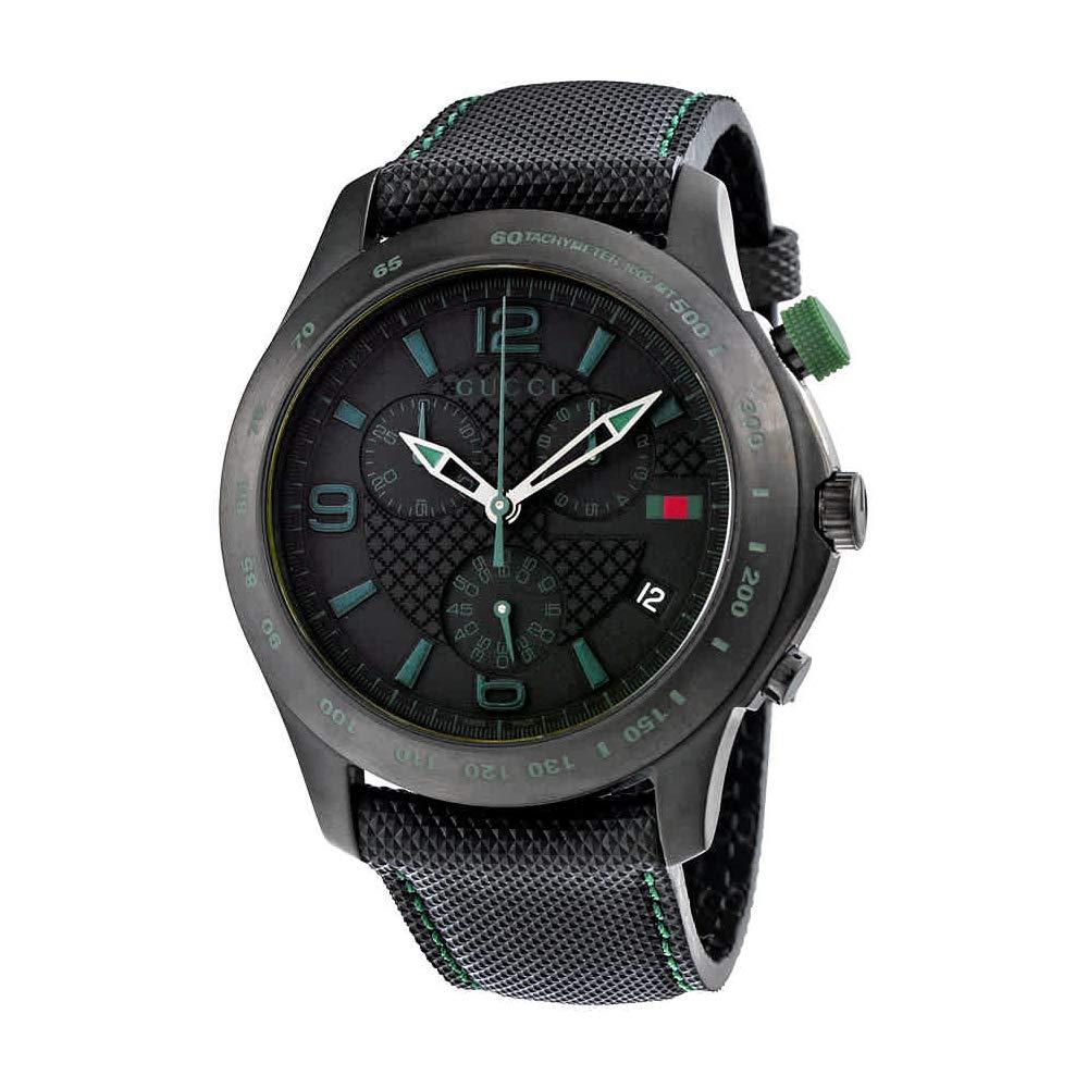 15e8f670d61 Amazon.com  Gucci G-Timeless Chronograph Black Dial Men s Watch YA126225   Gucci  Watches