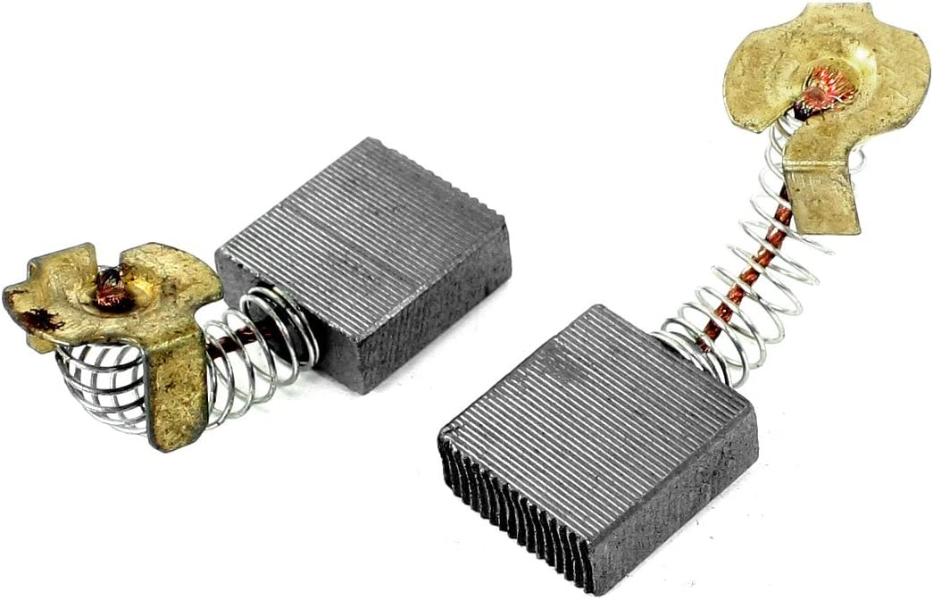 16mm x 11mm x 7mm Uxcell Power Tool Motor Carbon Brushes Spare Part 8 Pcs