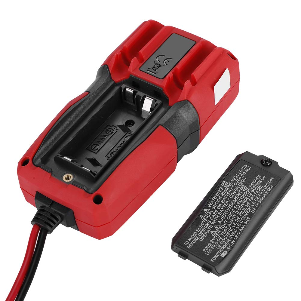 UNI-T UT125C Mult/ímetro digital volt/ímetro de mano Voltaje AC//DC Corriente de ohmios Probador Rango autom/ático