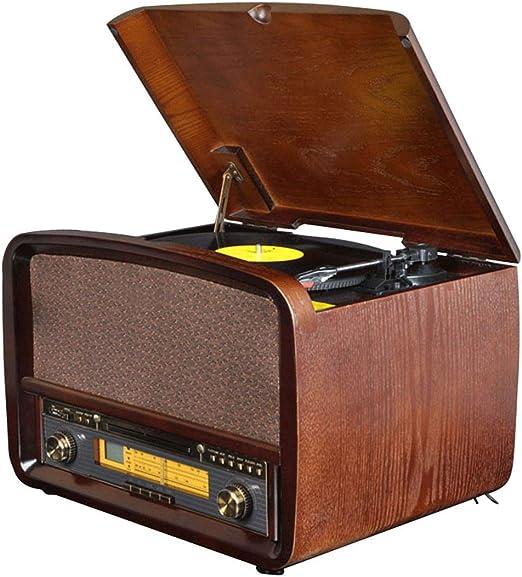 Gramófono Reproductor De Discos De Vinilo, Radio Retro Apariencia ...