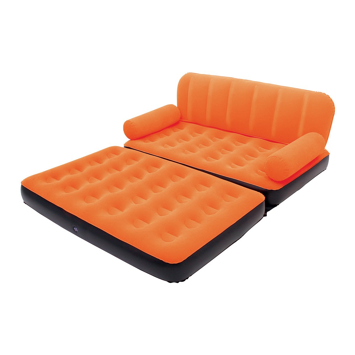 Bestway Multi-Max Inflatable Couch with Air Pump, Orange