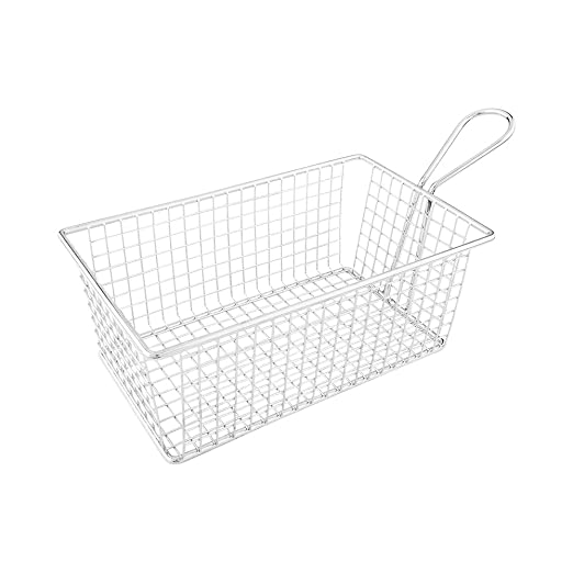 Amazon Com Low Boy Fry Basket Appetizer Basket