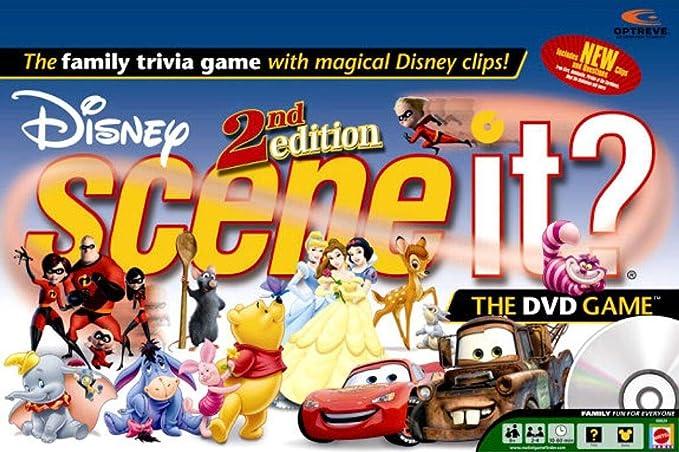 Scene It? DVD Game - Disney 2nd Edition by brandsonSale: Amazon.es: Juguetes y juegos