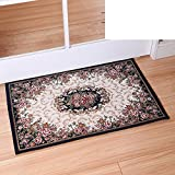 Continental door mats/Door mats/Bedroom bathroom water-absorbing mat/Entrance mat-L 90x90cm(35x35inch)