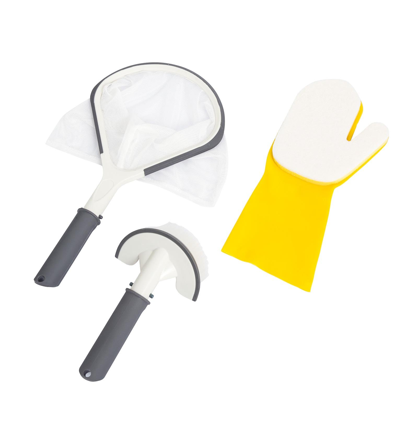 Bestway Lay-Z Spa SaluSpa Hot Tub All-in-One 3-Piece Cleaning Tool Set