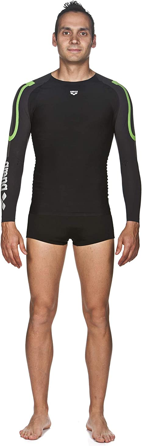 Arena Womens Powerskin Carbon Compression Long Sleeve
