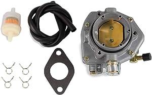Carburetor oil filter Kit Compatible with ONAN NOS B48G P216G P218G P220G P126G P128G OL16 OL18 OL20 LX720 LX770 LX790 B48G-GA020 B48G-GA19.9 B48M Replace 146-0496 146-0414 146-0479