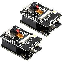 SODIAL ESP32-CAM-MB WiFi płytka rozwojowa OV2640 moduł kamery -interfejs USB CH340G USB do interfejsu szeregowego 2…