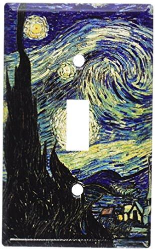 Art Plates - Van Gogh: Starry Night Switch Plate - Single Toggle