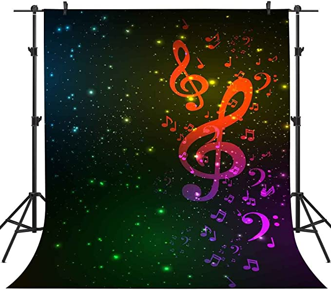 5x7ft Vinyl Starry Sky Backdrop Purple Sky Photography Background Customized Studio Background Studio Props LY198 for Party Decoration Birthday YouTube Videos School Photoshoot Photo Background Props