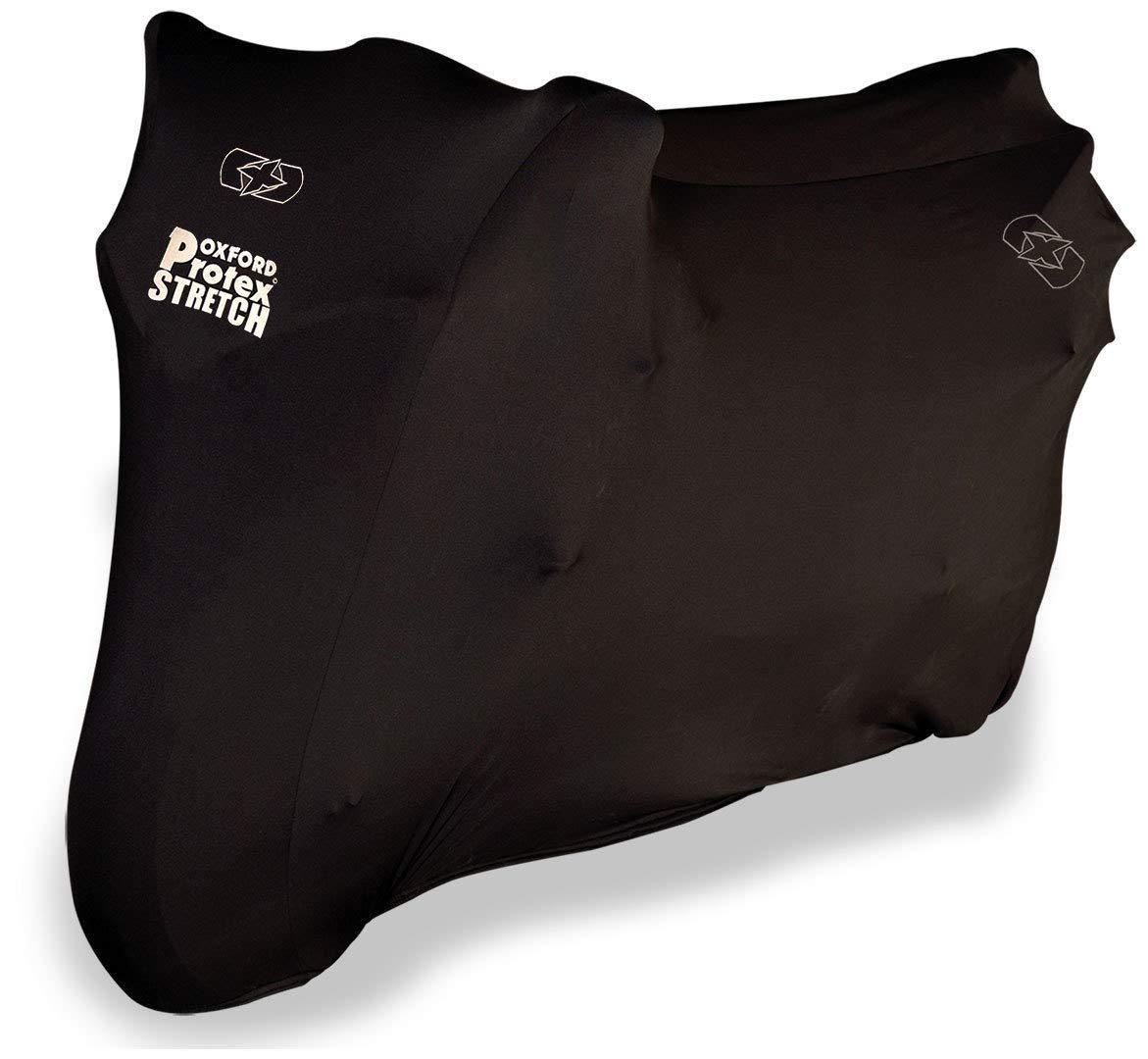 M para Moto de Ajuste de Interior Color/Negro el/ástica Oxford Cubierta Protectora Protex pr/émium