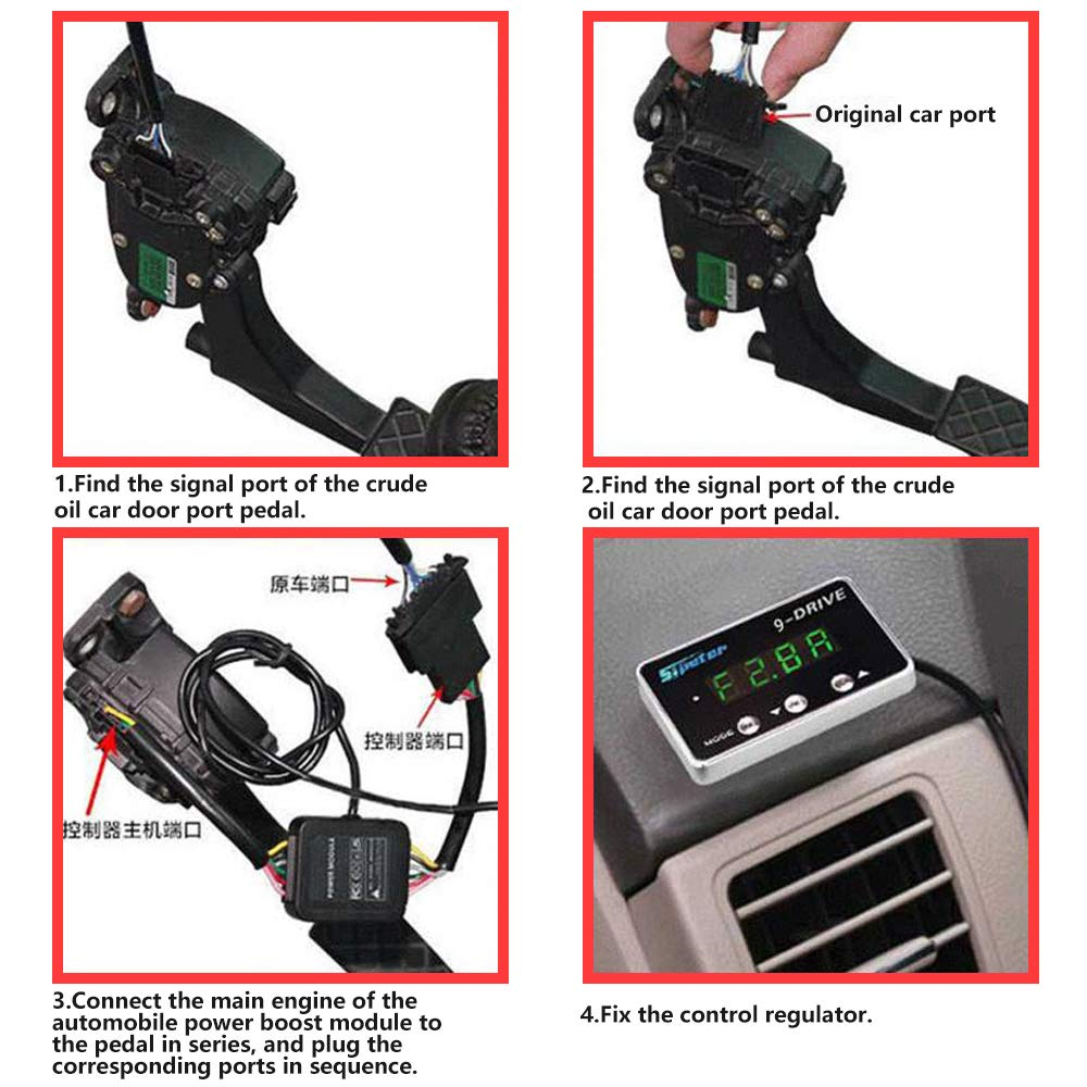 Switches & Relays Intelligent Driving Pedal Accelerator Sipeter ...