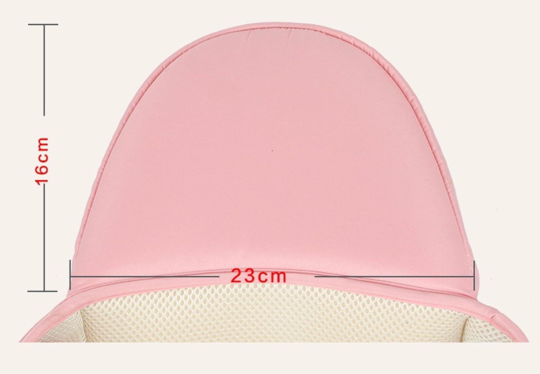 Rose Happy Cherry Porte-b/éb/é Ventral L/éger Tabouret B/éb/é Respirant avec Si/ège de Hanche Multi Positions Confortable pour B/éb/és de 4 /à 36 Mois