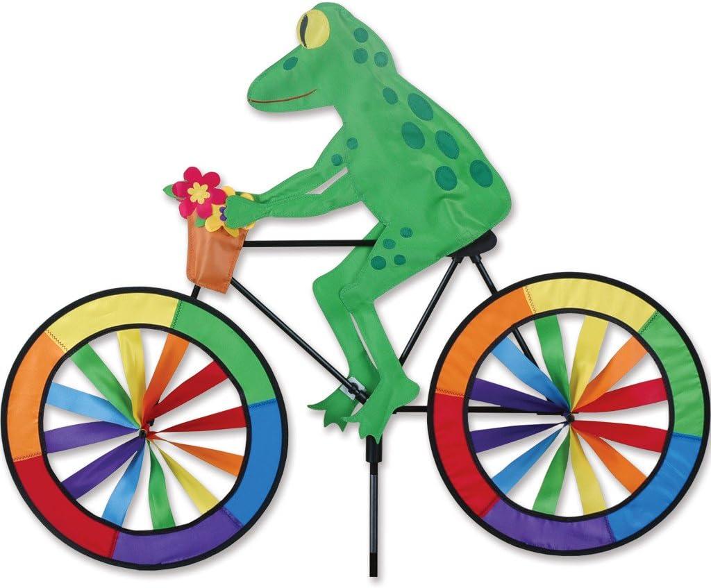"""30/"""" FOX on a Bike Spinner Whirligig Garden Stake by Premier Design"""