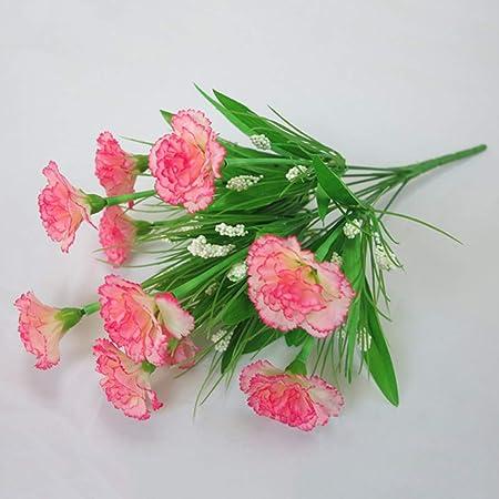 ZTMDHD 10 tête 1 Bouquet Fleurs Artificielles Pas Cher