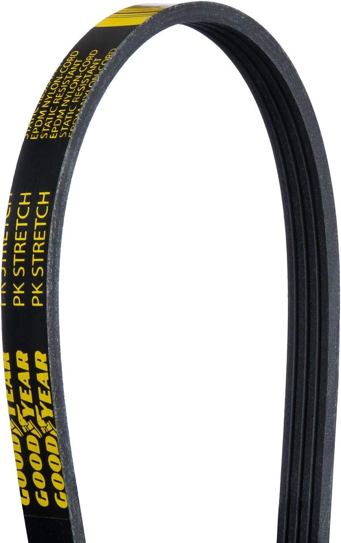 4-Rib Goodyear S040317 Stretch Serpentine Belt 34 Length