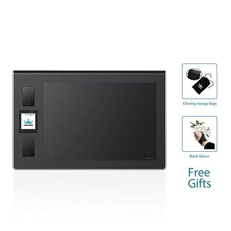 bfb2bf719b090 HUION DWH69 5080líneas por Pulgada 228 x 152mm USB Negro Tableta  digitalizadora - Tableta gráfica (