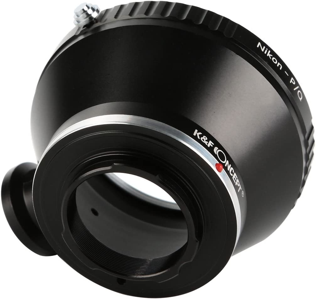 K/&F Concept Lens Mount Adapter with Tripod for Nikon AI AI-S F Lens to Pentax Q-S1 Q10 Q7 Q DSLR Camera Camera Body