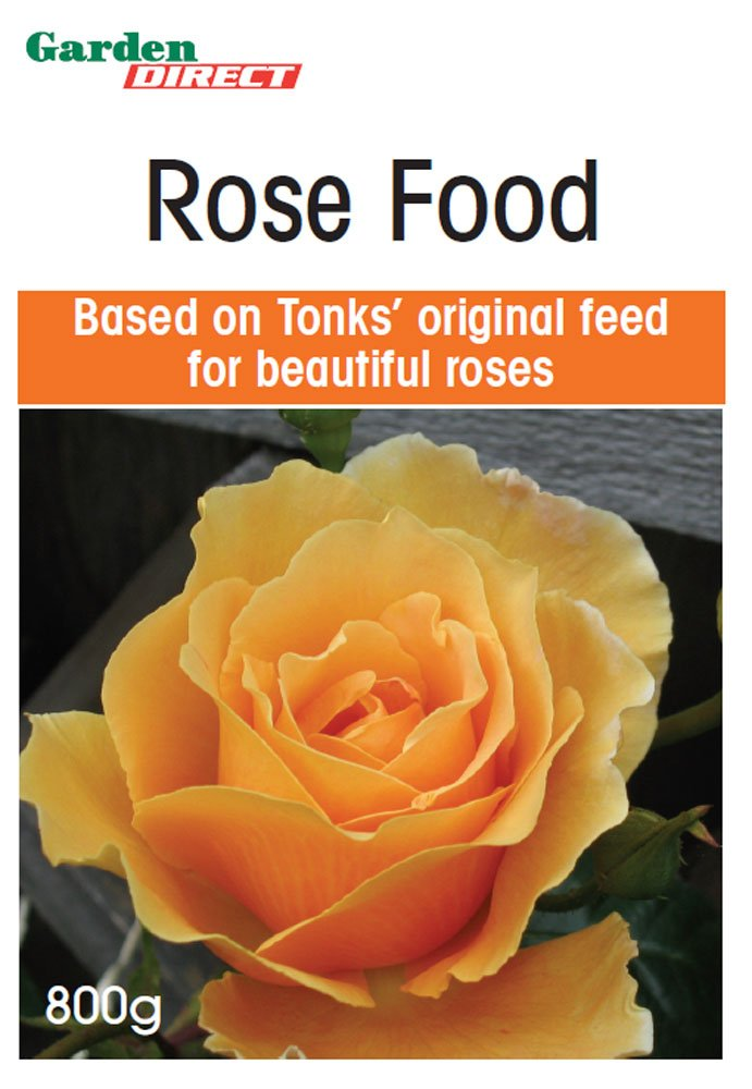 Rose Food (1 x 800g) Garden Direct