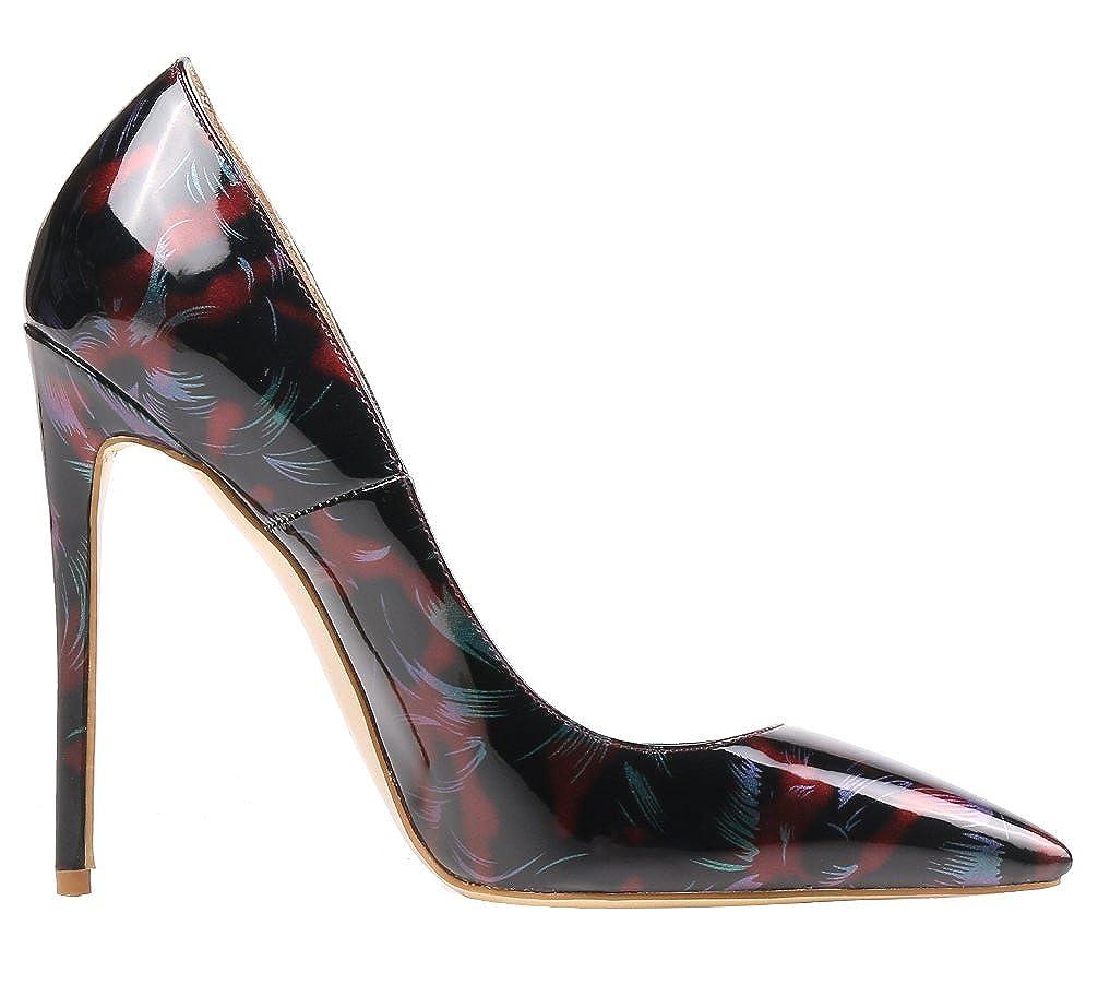 AOOAR AOOAR AOOAR Damen Glitzernd Stilettos Pumps Schuhe de764e
