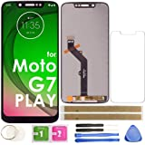 G7 Play LCD Screen Replacement Touch Display Digitizer Assembly (Black) for Motorola Moto G7 Play XT1952 XT1952-02/03/04 XT19
